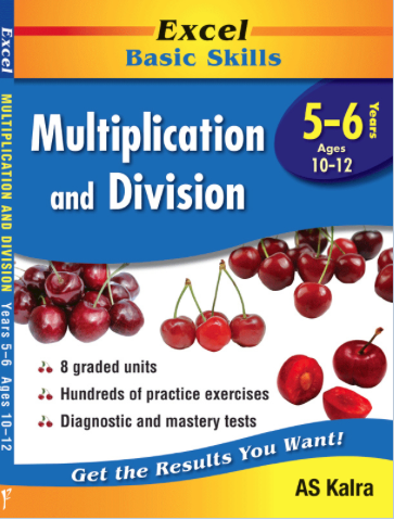EXCEL BASIC SKILLS - MULTIPLICATION AND DIVISION YEARS 5–6 - Teachnest