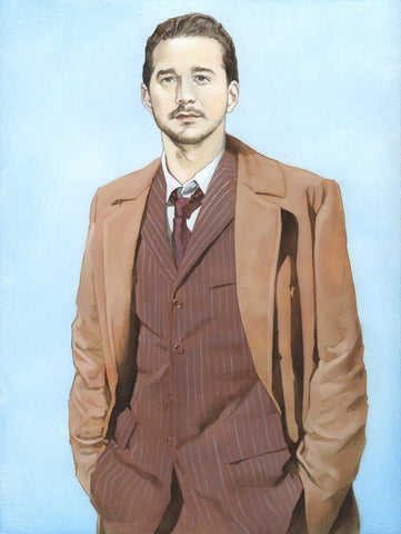 """The Tenth Shia LaBeouf"" original oil painting"