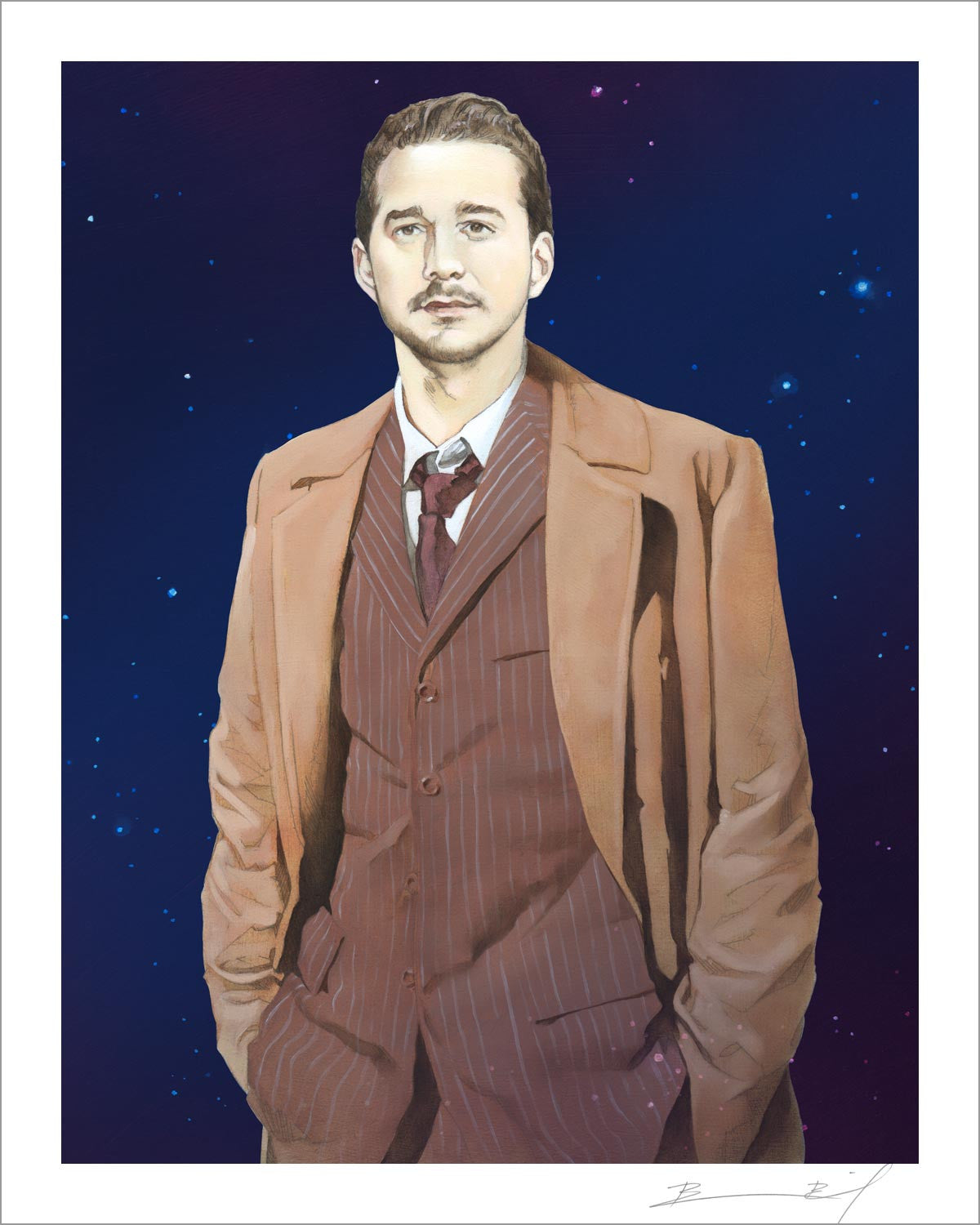 """The Tenth Shia LaBeouf"" signed print"