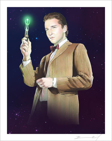 """The Eleventh Shia LaBeouf"" signed print"
