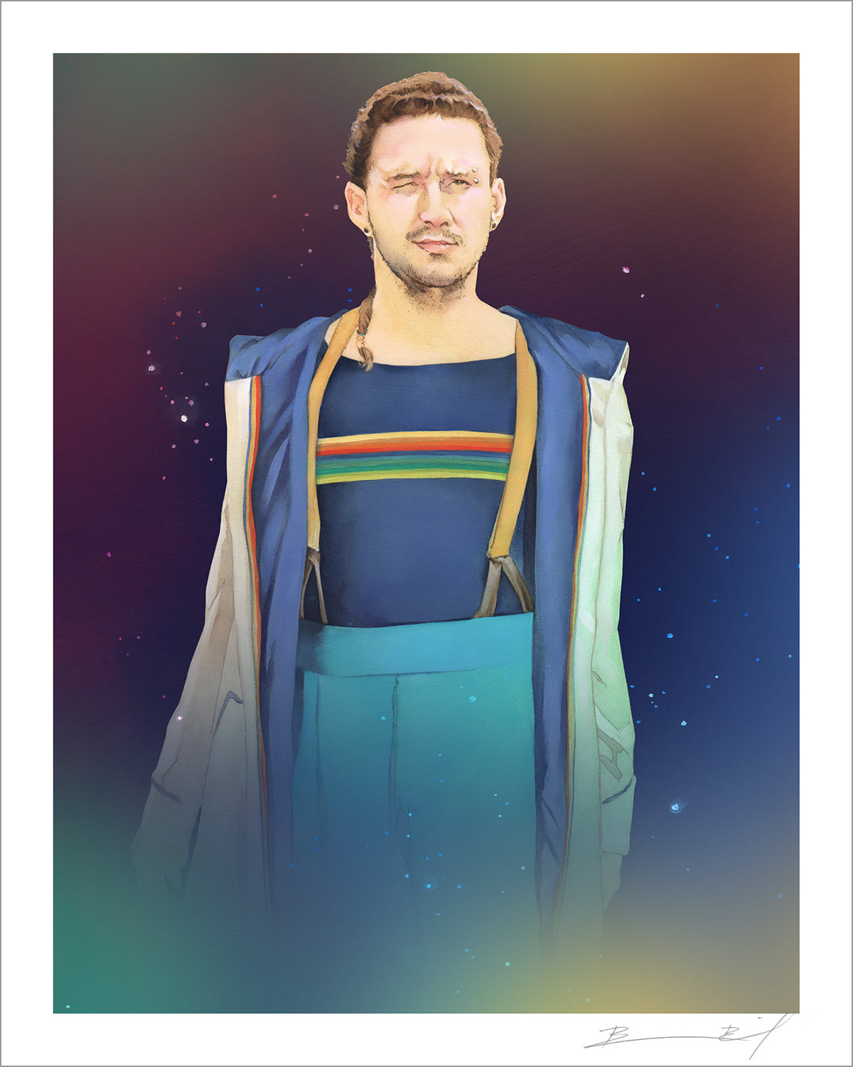 """The Thirteenth Shia LaBeouf"" signed print"