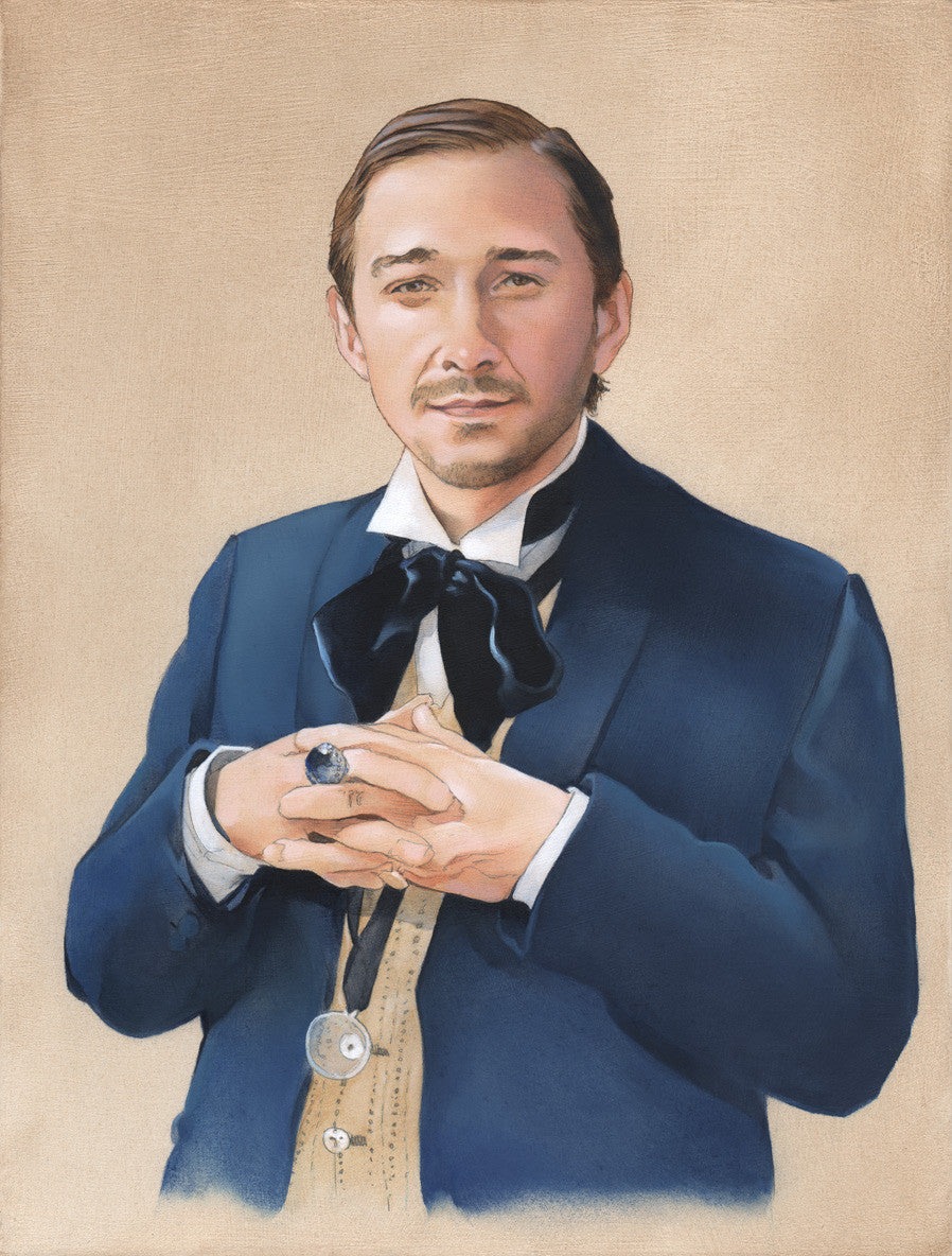 """The First Shia LaBeouf"" original oil painting"