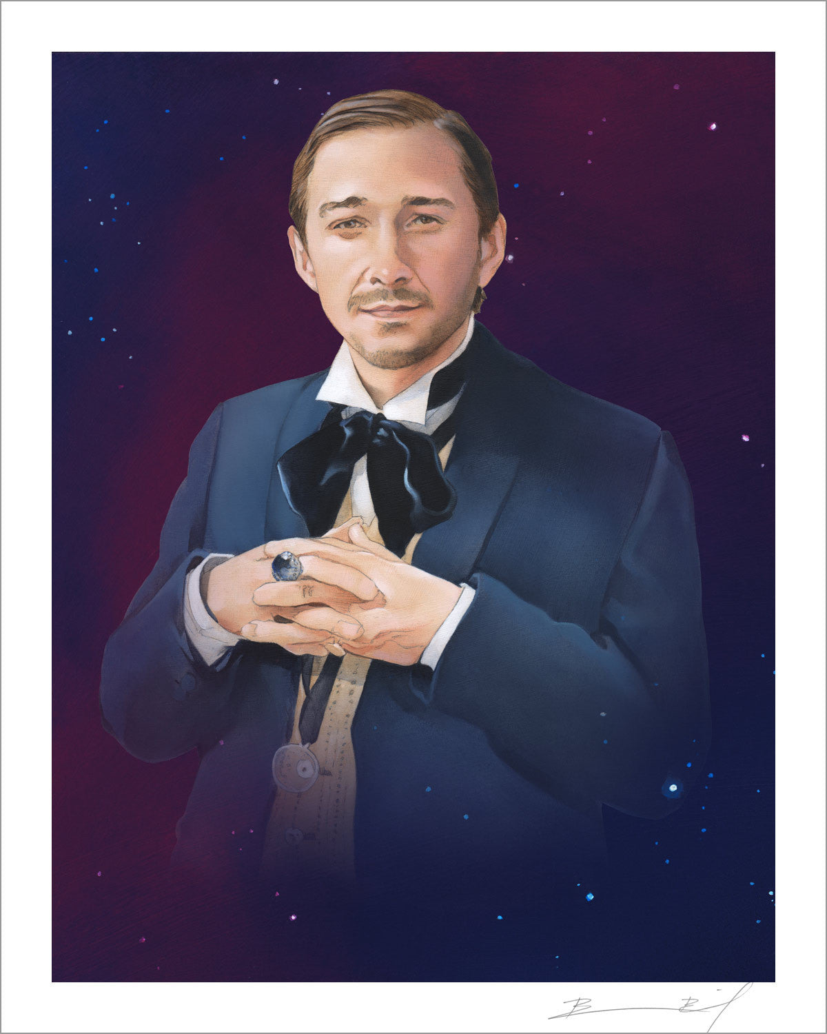 """The First Shia LaBeouf"" signed print"