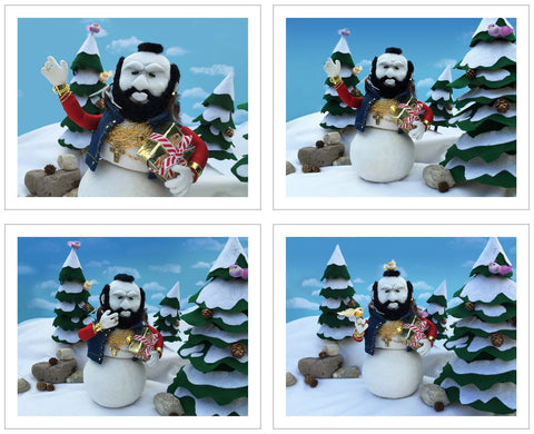 """Winter Wonderland"" print set"