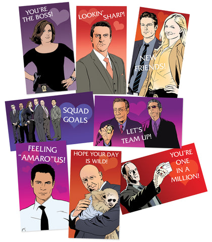 SVU (*Sticker* Valentine Unit) sticker set