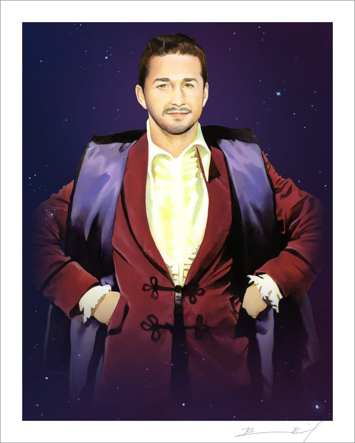 """The Third Shia LaBeouf"" signed print"