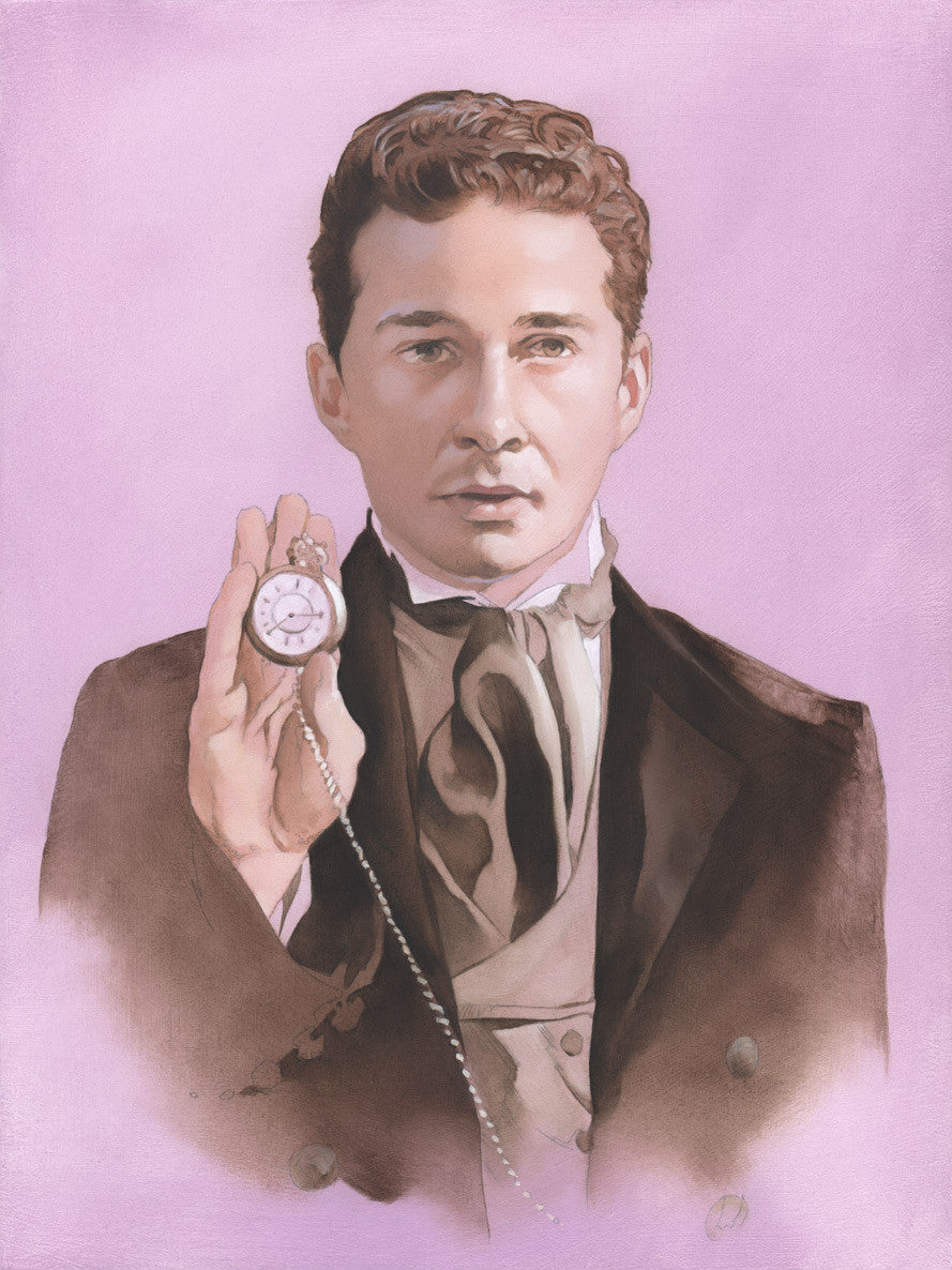 """The Eighth Shia LaBeouf"" original oil painting"