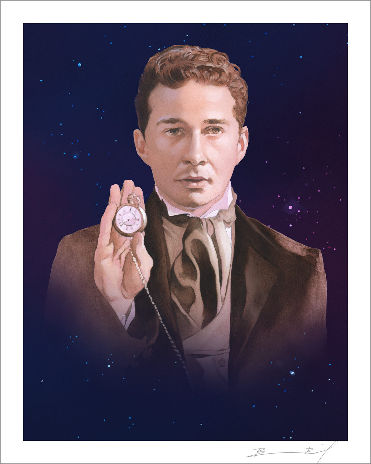 """The Eighth Shia LaBeouf"" signed print"