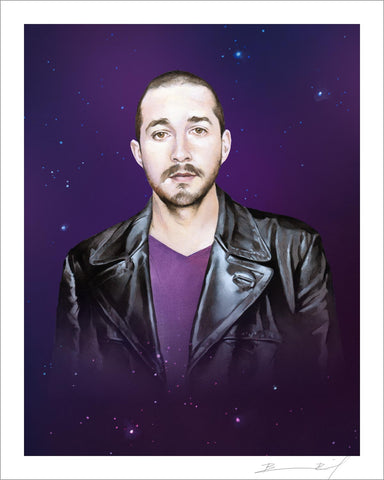 """The Ninth Shia LaBeouf"" signed print"