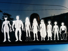 """Post-Nuclear Family"" decal"