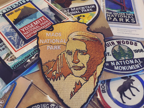 Mads Mikkelsen National Park patch
