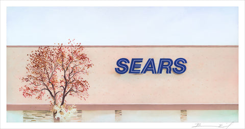 """Sears: Minneapolis"" signed print"
