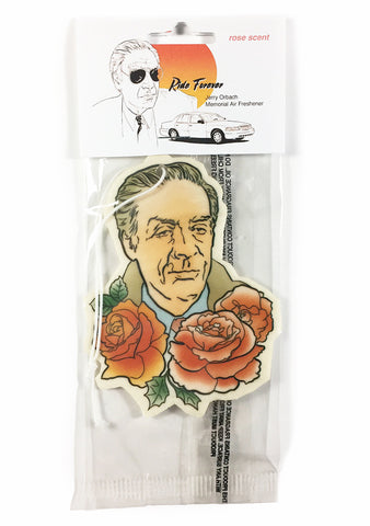 Jerry Orbach memorial air freshener