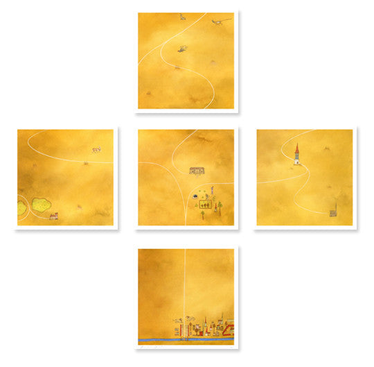 """Of Bajor"" signed print set"