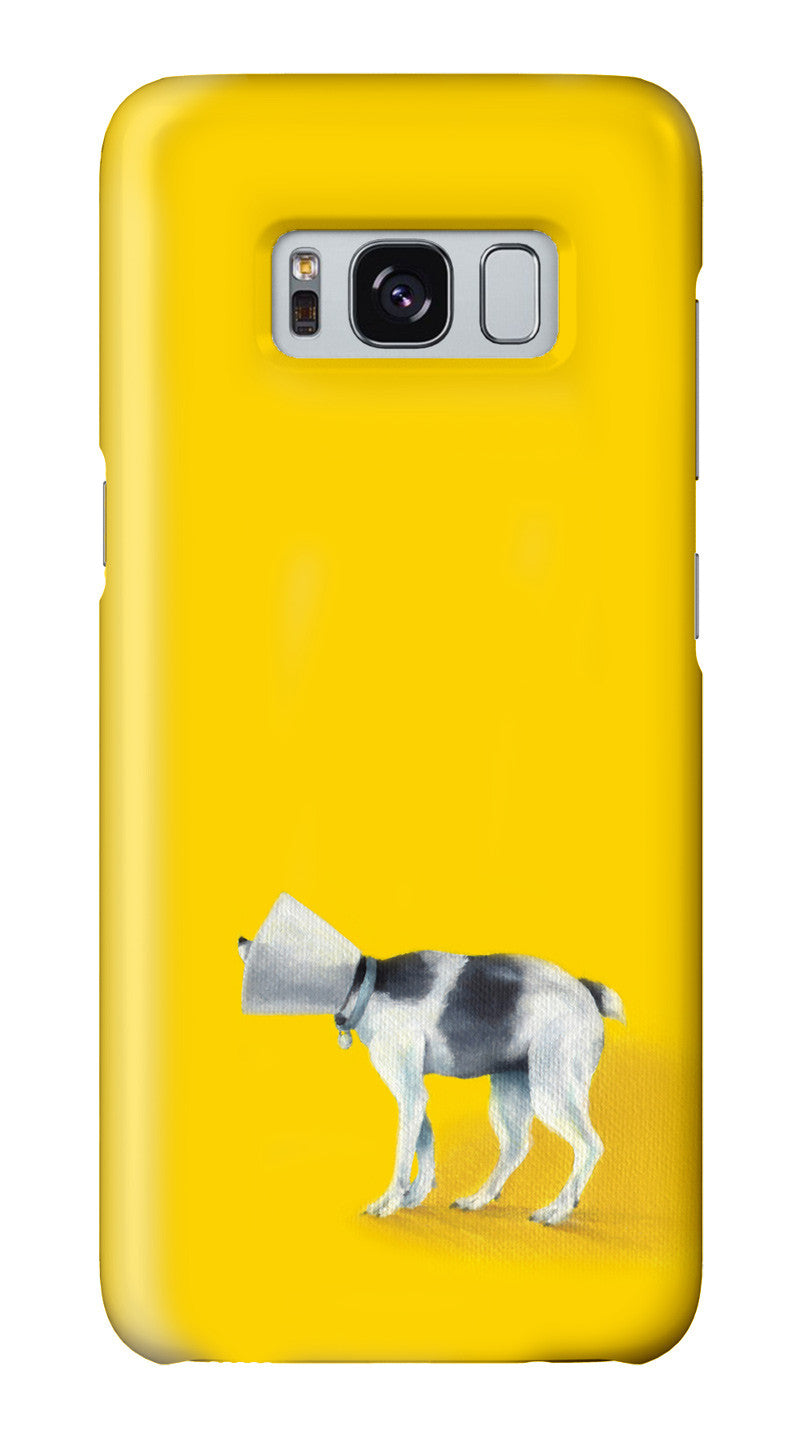 """Brave Cone Dog"" Galaxy case"