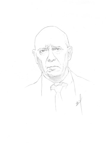 Sketch of Capt. Cragen