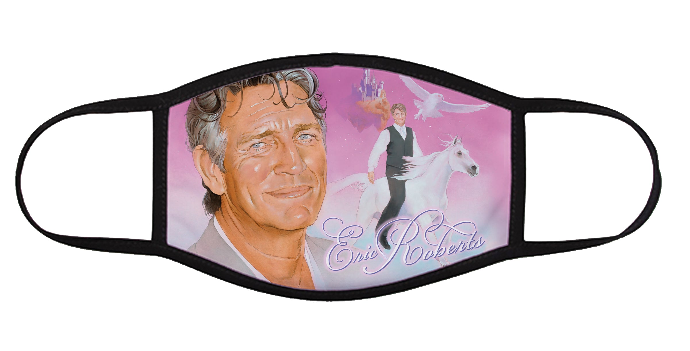 """The Ballad of Eric Roberts"" face mask"