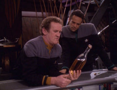 Portrait of you and Chief O'Brien