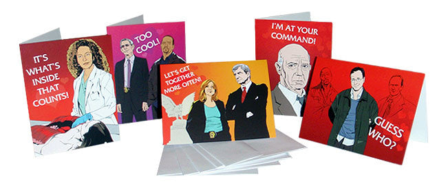 SVU Valentine folding greeting cards