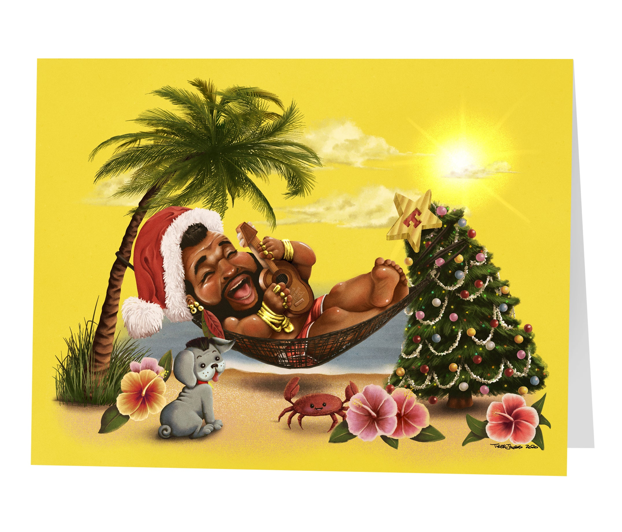 """Hammock Time!"" T-mas cards"