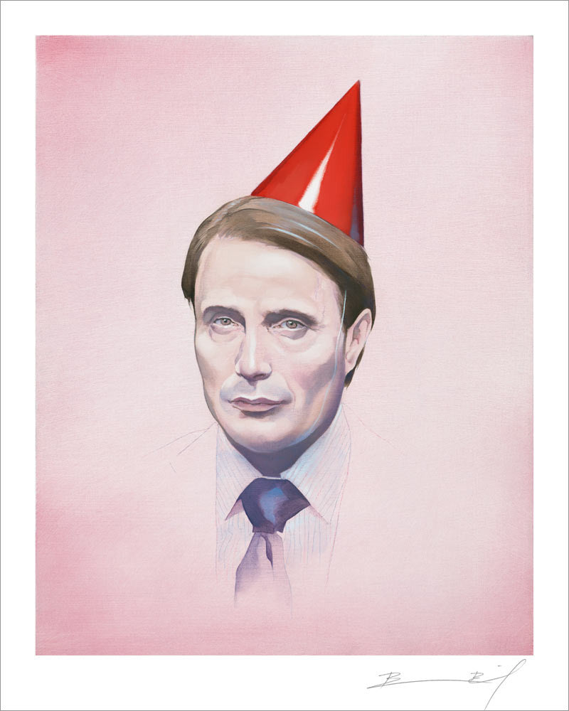 """Party Animal"" signed print"