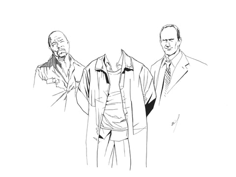Fin and Stabler arrest a headless suspect