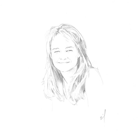 Sketch of Helen Hunt