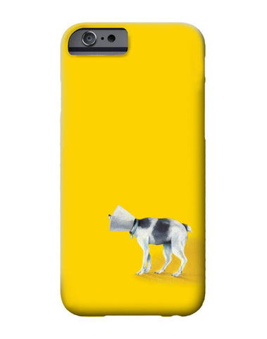 """Brave Cone Dog"" iPhone case"