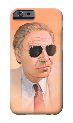 """Man Wearing Sunglasses"" iPhone case"
