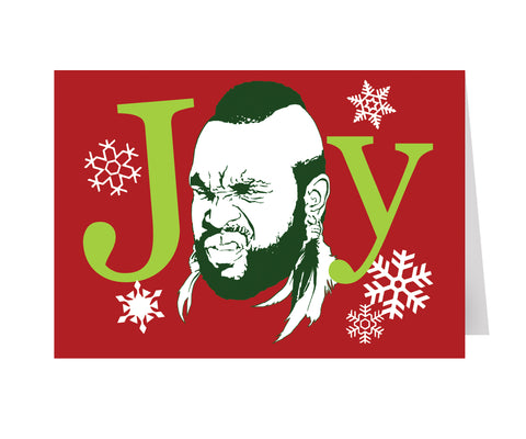 """Joy"" T-mas cards"