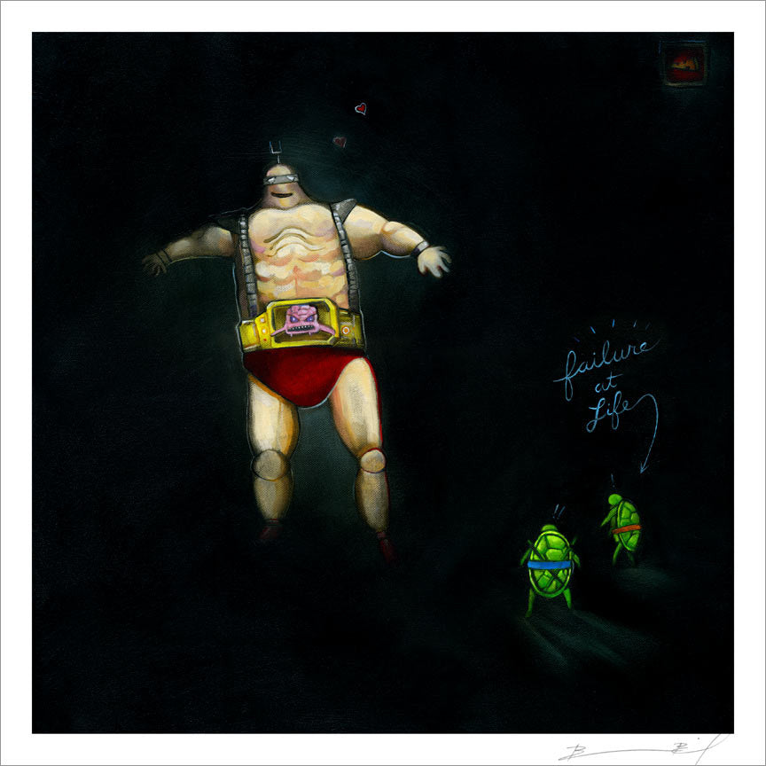 """The Big Hurt"" signed print"