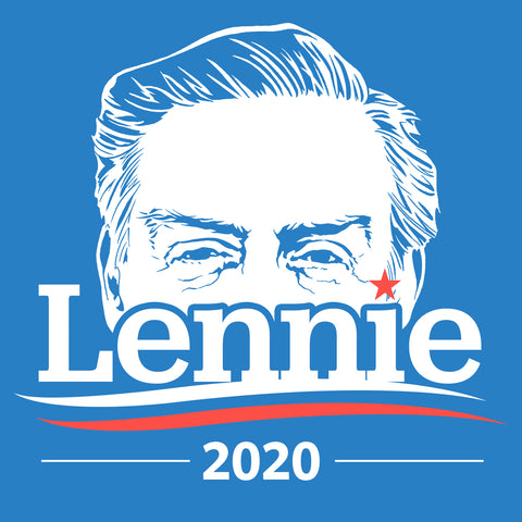 Lennie campaign stickers
