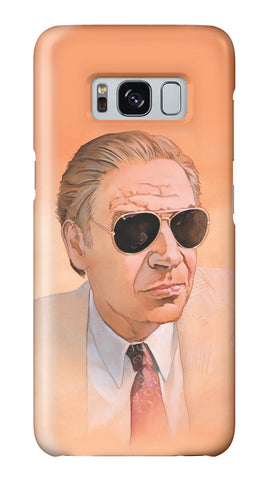 """Man Wearing Sunglasses"" Galaxy case"