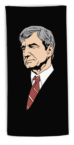 """Jack McCoy"" beach towel"
