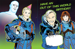 """Prometheus"" Birthday card"
