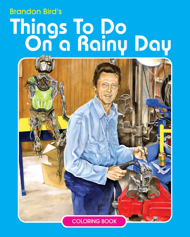 Rainy Day Coloring Book digital download