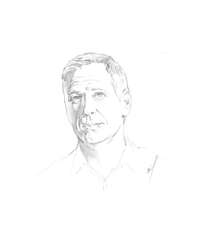 sketch of Scott Thompson