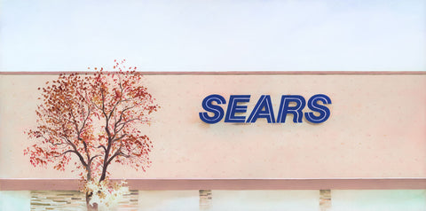 """Sears: Minneapolis"" original oil painting"
