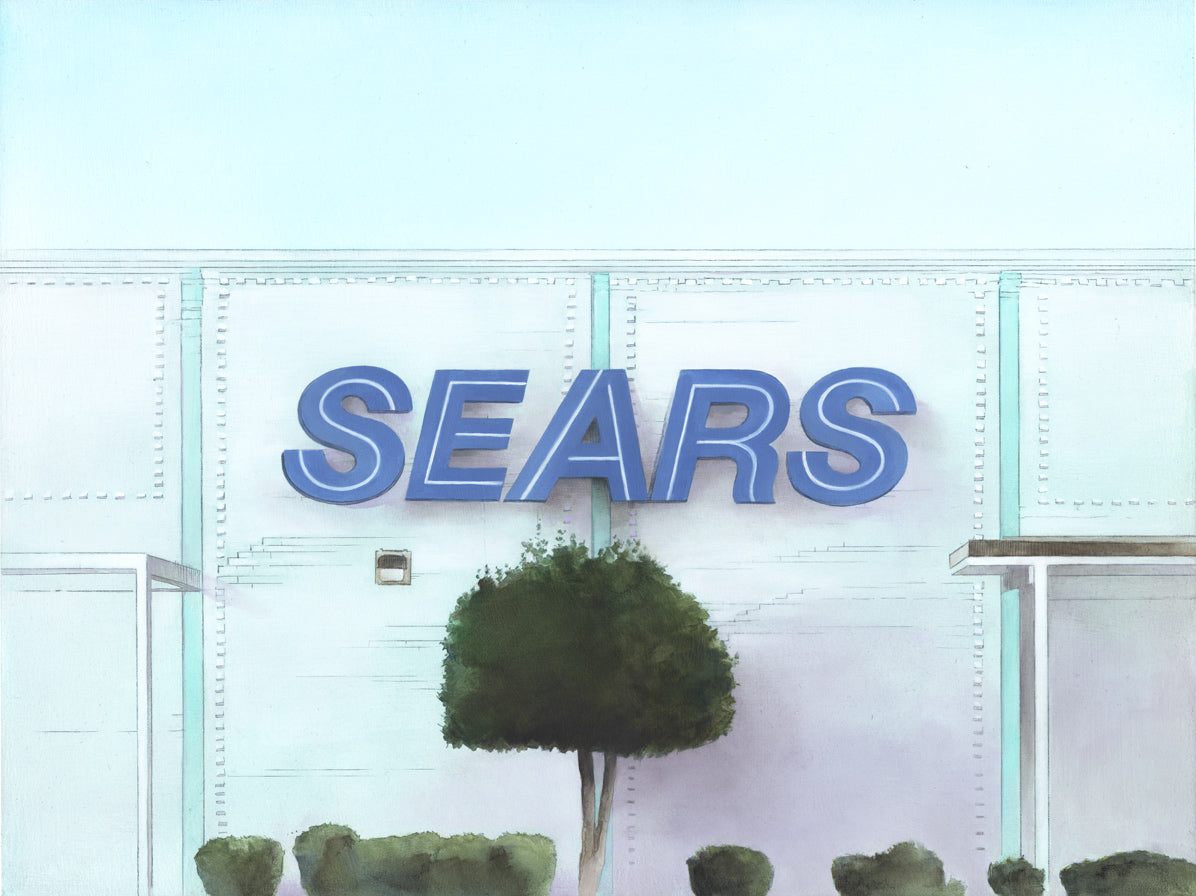 """Sears: Nashville"" original oil painting"