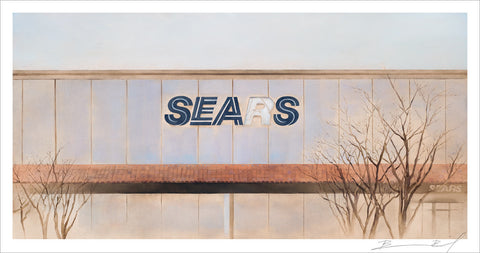 """Sears: Capitola"" signed print"