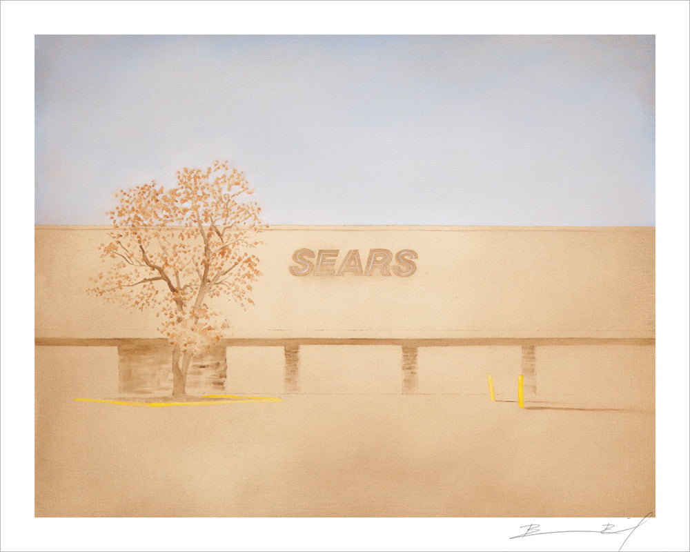 """Day Sears (Minneapolis)"" signed print"