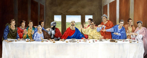 """Last Supper"" poster"