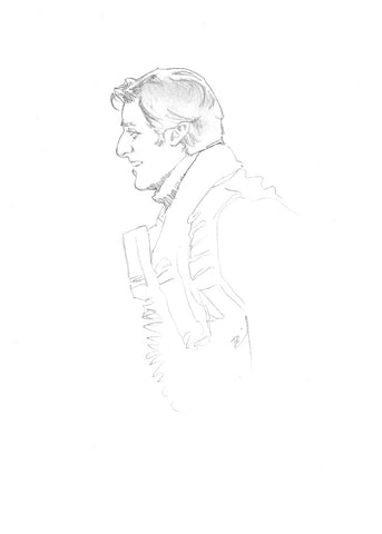 Tiny drawing of Poe Dameron