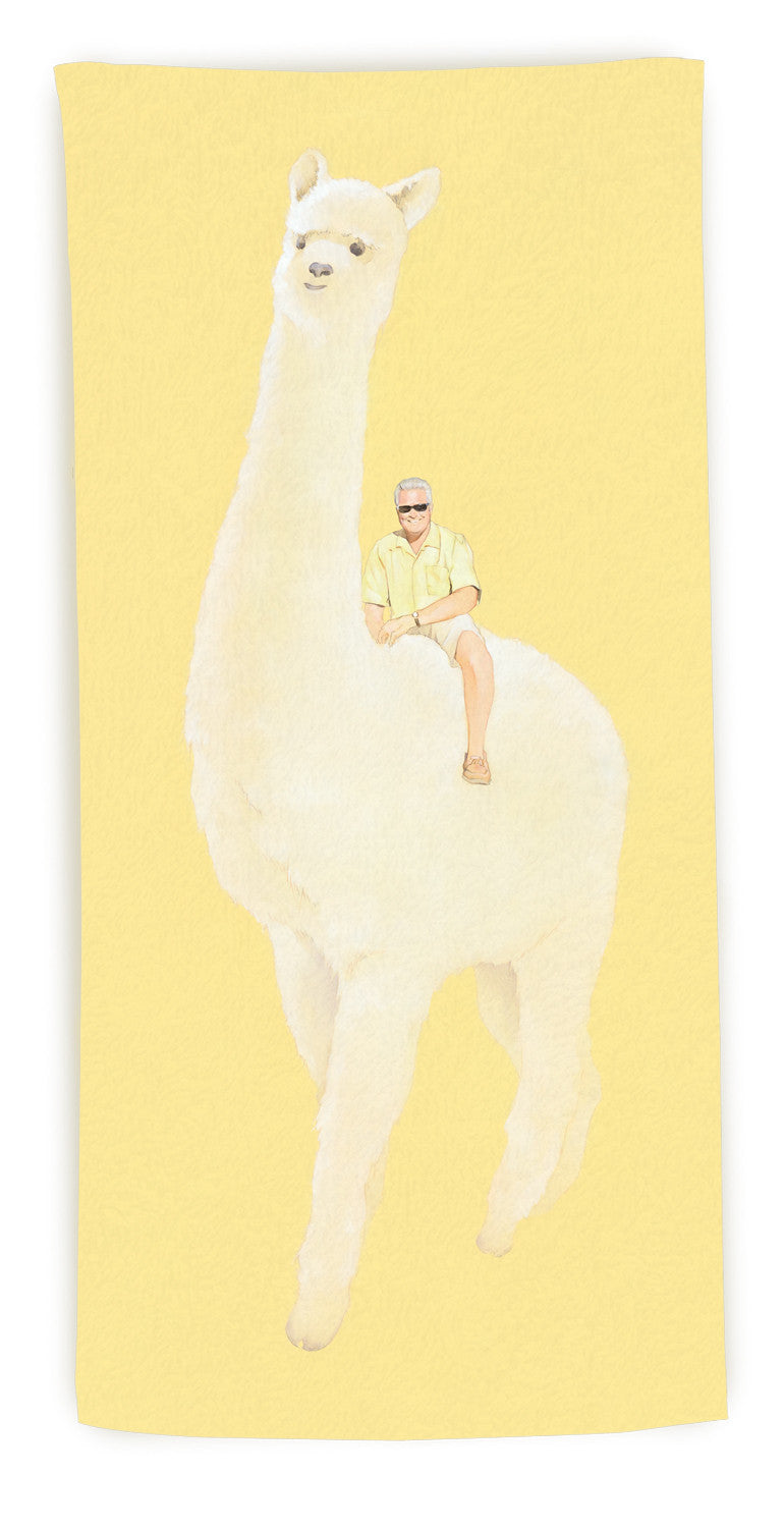 """The Stallion"" beach towel"