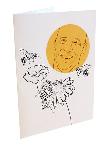 """Vin with Bees"" greeting cards"
