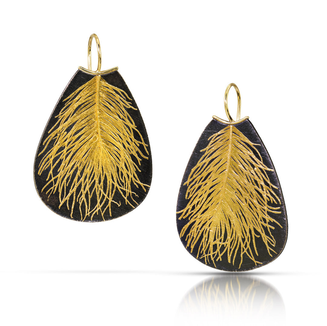 N° 259 Feather Earring / Made-to-Order