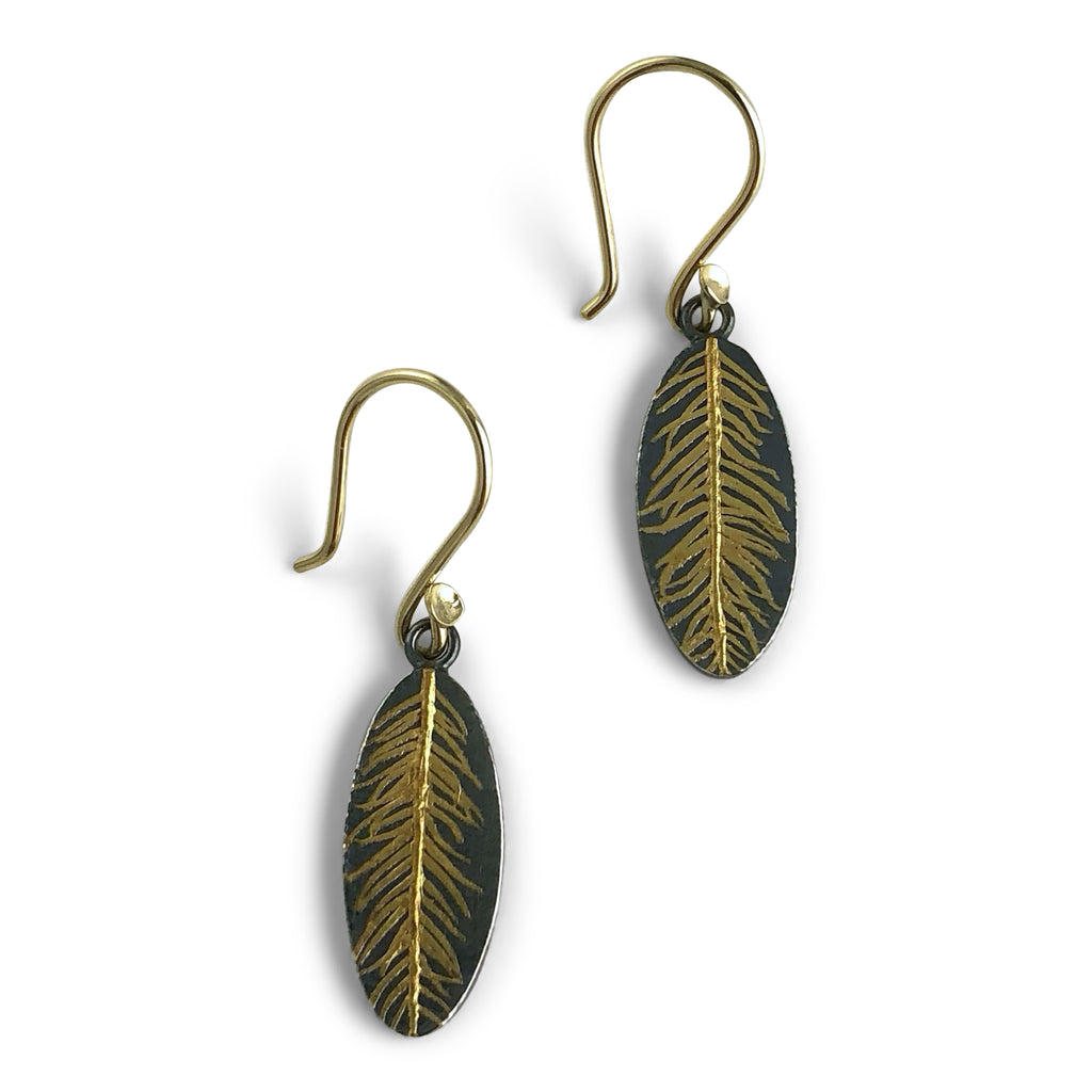 N° 233 Feather Earring Small