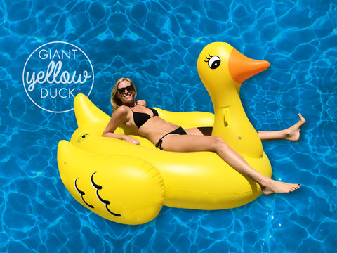 NEW RELEASE- GIANT YELLOW DUCK