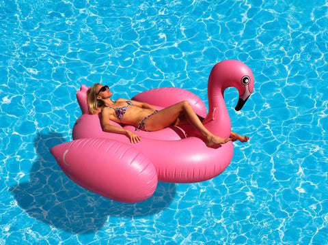 Giant Flamingo Inflatable Pool Toy