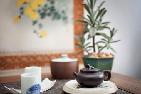 Yixing Teapot - Crouching Tiger, Hidden Dragon